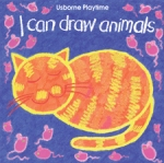 USBORNE PLAYTIME $4.99 I Can Draw Animals I Can Draw People